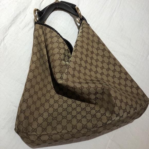 """190dc0ffb4cf Gucci Handbags - Authentic GUCCI """"horsebit"""" hobo bag"""